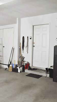 Garage Door Entry