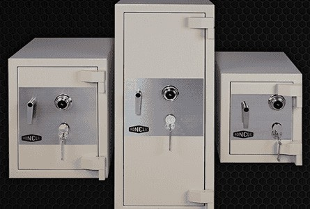 Small, Medium and Large Safes